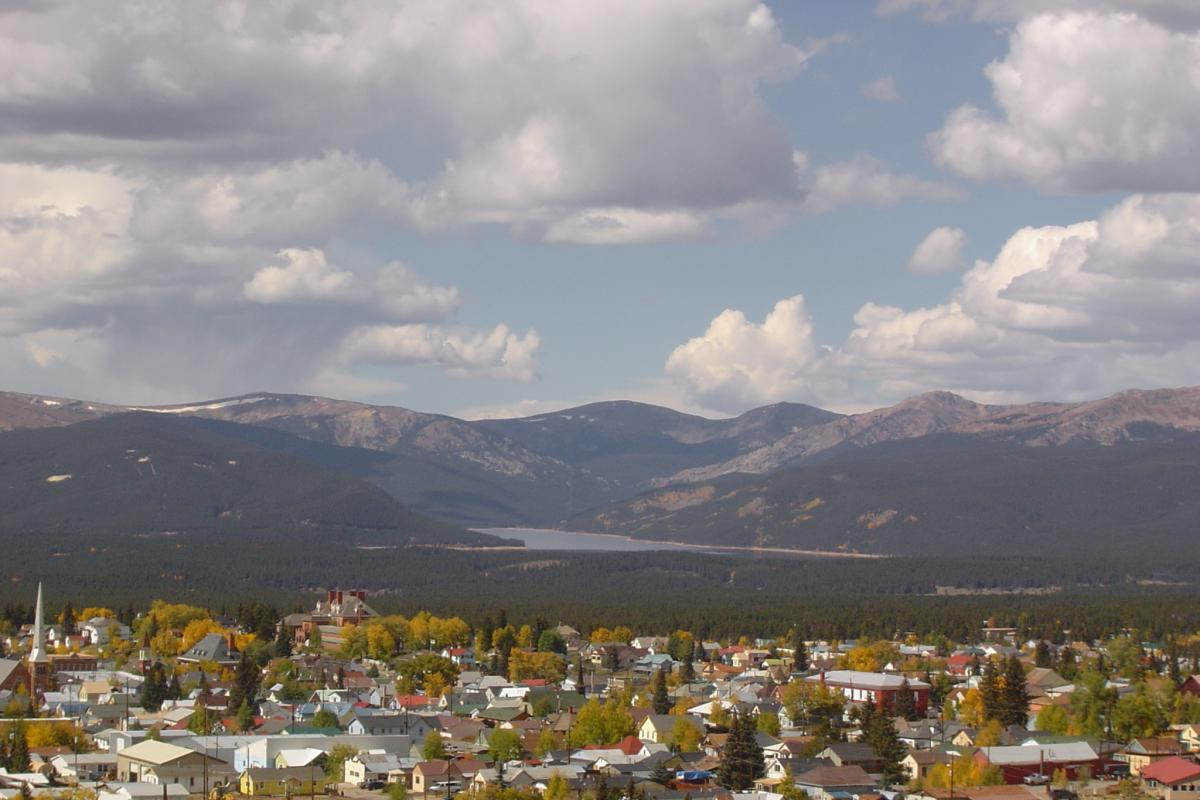 Leadville from Above by Mabel Bogeart
