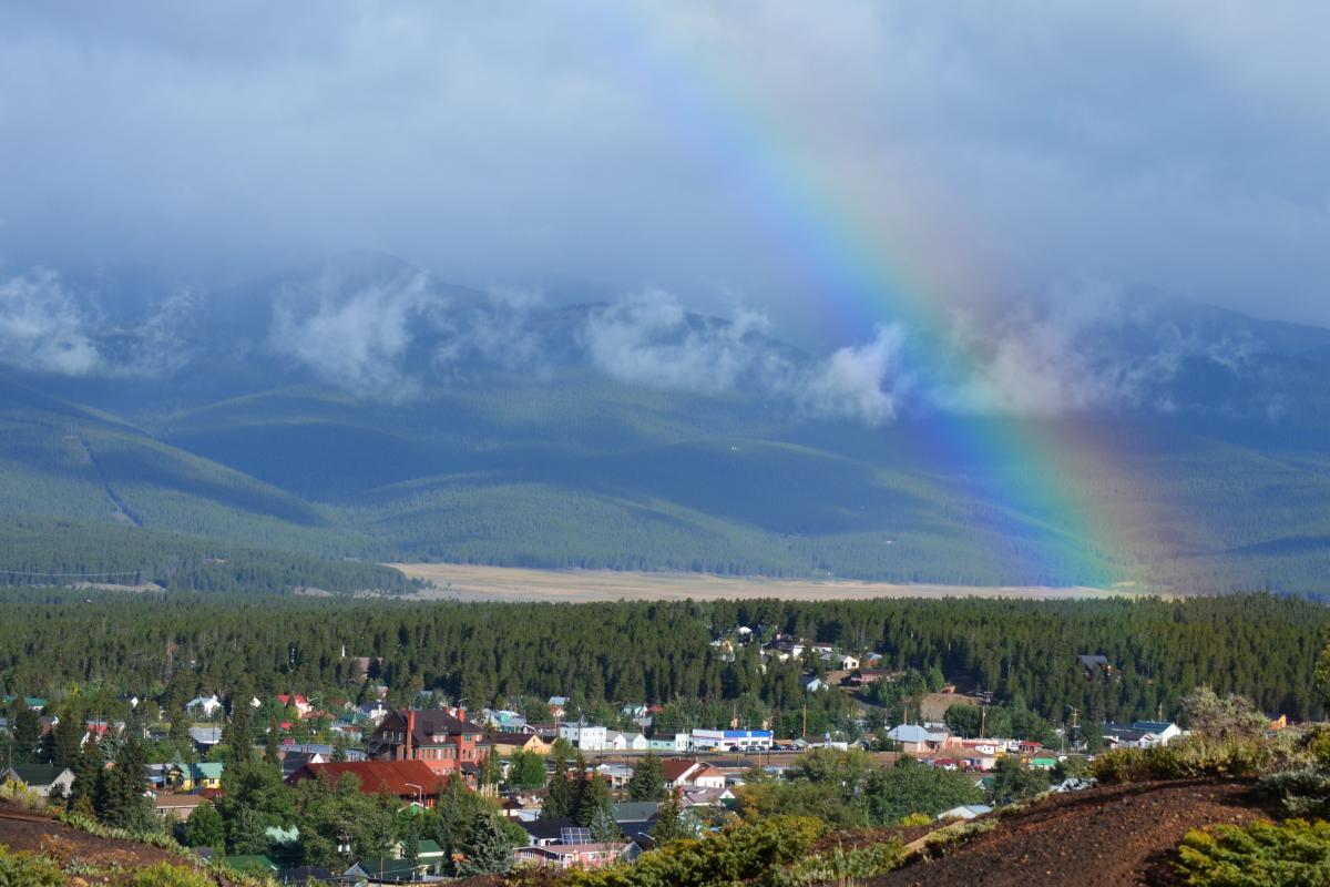 Leadville Downtown Rainbow