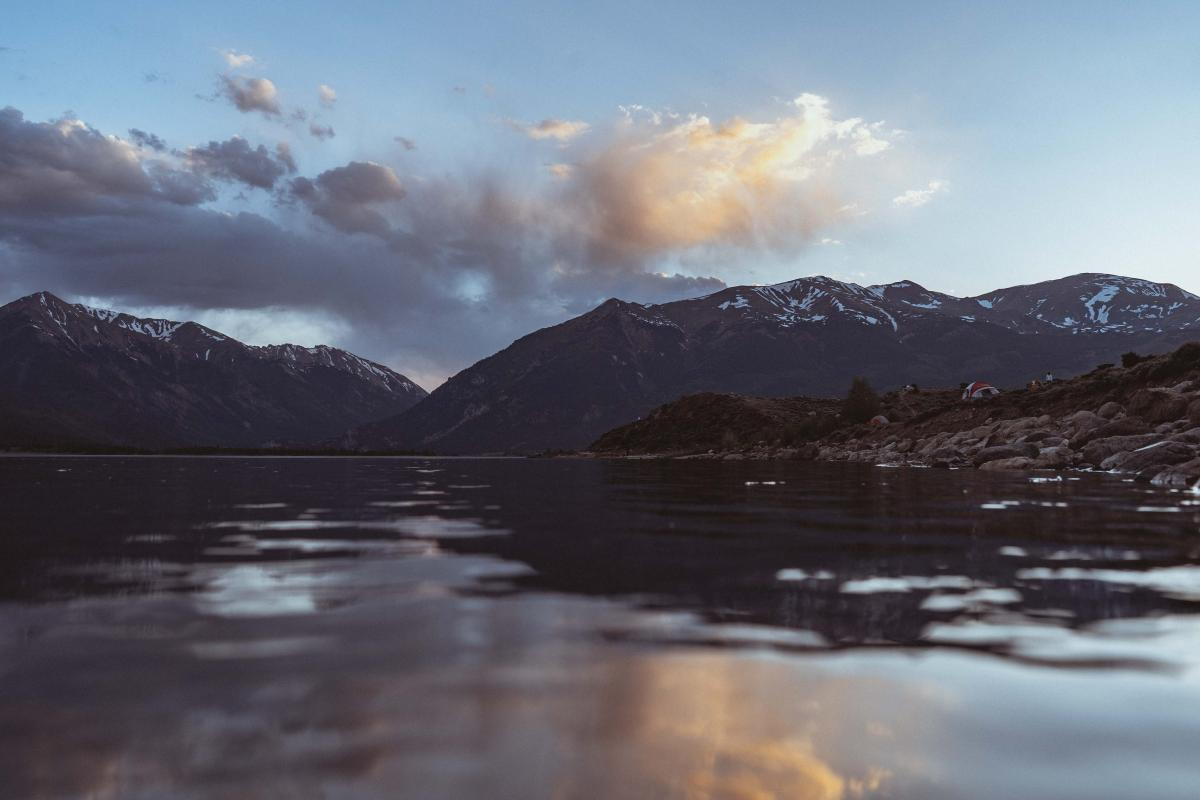 Twin Lakes by Payson Wick