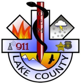 Lake County Office of Emergency Management logo