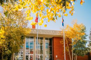 Courthouse in the Fall